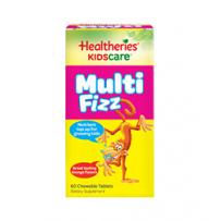 Healtheries 贺寿利 儿童跳跳糖综合维生素咀嚼片 60片