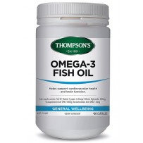 Thompson's 汤普森 Omega-3深海鱼油胶囊 1000mg 400粒