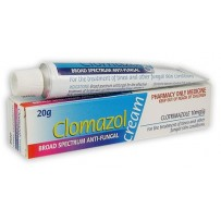 Clomazol Broad Spectrum Anti-Fungal Topical Cream 1% 20g