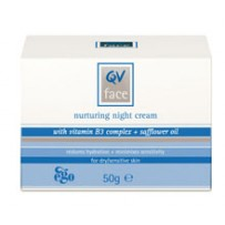 Ego 意高 QV系列 补水抗皱温和抗敏感晚霜 50g