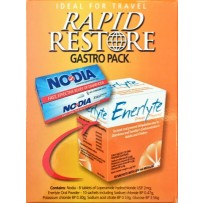 Rapid Restore Gastro Pack (10 Enerlyte Sachets, and 8 Nodia Tablets)