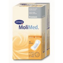 MoliMed Micro Incontinence Adhesive Pads 14's - For light flow