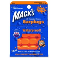 MACK'S Silicone Kids size Ear Plugs - 6 Pairs