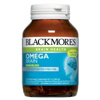 Blackmores 澳佳宝 Omega Brain 超浓缩补脑无味深海鱼油 60粒