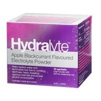 Hydralyte Electrolyte Powder Apple & Blackcurrant Sachets 10 x 5g