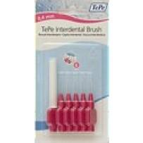 TePe Interdental Toothbrush  0.4mm Pink - XXXX Fine (Blister pack of 6)