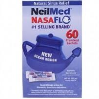 NeilMed Sinus Rinse NasaFlo (Neti Pot) and Sachets 60