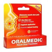 Oralmedic Mouth Ulcer Treatment - 2 single use applicators