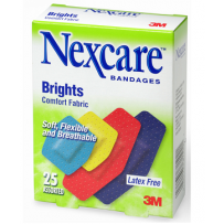 Nexcare - Brights 25 Assorted Plasters