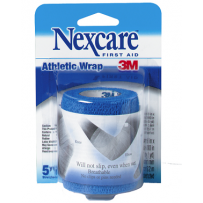 Nexcare - Athletic Wrap Blue 4.5m Stretched