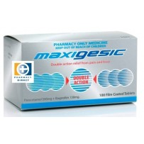 Maxigesic Double Action Pain Relief Tablets 100 每单限购1件