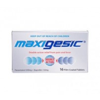 Maxigesic Double Action Pain Relief Tablets 16