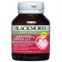 Blackmores 澳佳宝 脂肪酸辅酶Q10胶囊(保护心脏/抗氧化)60粒