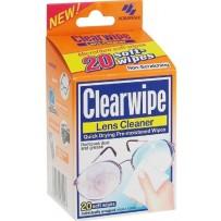 Clearwipe 眼镜镜片擦拭巾 20张