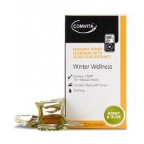 Comvita 康维他 麦卢卡蜂胶润喉糖(蜂蜜和橄榄味)12粒