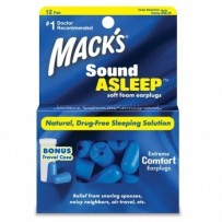 MACK'S Sound Asleep Soft Ear Plug - 12 pairs