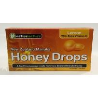 Honey Drops 维生素C柠檬润喉片 16片