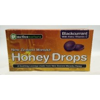 Honey Drops 维生素C黑加仑润喉片 16片