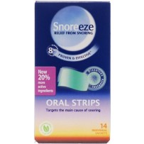 Snoreeze Oral Strips 14 - Great for Travelling
