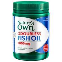 Nature's Own 深海鱼油胶囊 2000mg 200粒