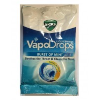 Vicks Vapodrops Liquicentres Lozenge 22 - Burst of Mint