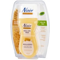 Nair Hair Removal - Salon Divine Roll on Wax Milk and Honey 100ml
