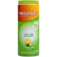 Metamucil Lemon Lime Smooth Sugar Free 425g 72 doses