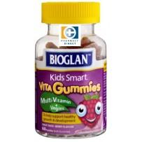 BIOGLAN 儿童多种维生素+蔬菜软糖 60粒