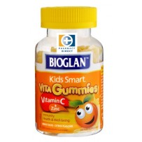 BIOGLAN 儿童维生素C+补锌软糖 60粒