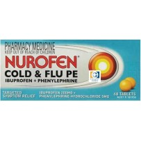 Nurofen Cold & Flu PE Tablets 48 每单限购1件