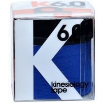 d3 k6.0 Kinesiology Tape 50+25mm x 6m - Royal/Black