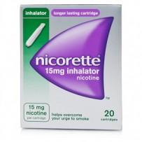 Nicorette 力克雷 15mg 戒烟吸入器 20支