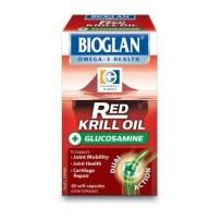 Bioglan 佳思敏 关节修复红色磷虾油+葡萄糖胺胶囊 60粒