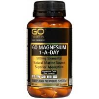 GO Healthy 高之源 500mg 补充镁元素胶囊 60粒