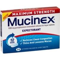 Mucinex Maxium Strength Tablets 14