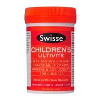 Swisse 儿童复合维生素+矿物质咀嚼片 60片