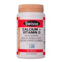 Swisse 钙+维生素D片(成人补钙)90片