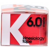 d3 k6.0 Kinesiology Tape 50mm x 6m - Red