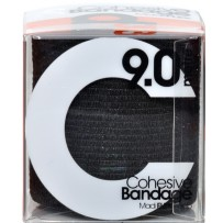 d3 C Tape Madi Flex Cohesive ECB 75mm x 9m - Black