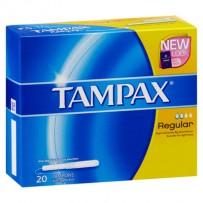 Tampax 常规卫生棉条 20条