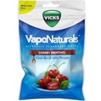 Vicks VapoNaturals Drops 70g - Cherry Menthol (approx 19 Drops)
