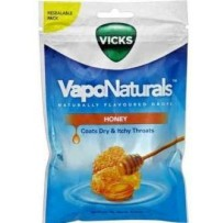 Vicks VapoNaturals Drops 70g - Honey (approx 19 Drops)