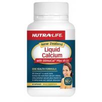 Nutralife 纽乐 液体钙+维生素D3胶囊 60粒