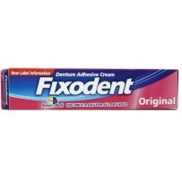 Fixodent Adhesive Denture Cream 21g