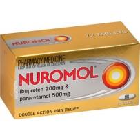 Nuromol Tablets 72 每单限购1件