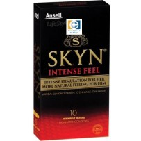Ansell 安思尔 SKYN极肤强烈触感安全套 非橡胶不过敏 10片