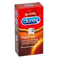 Durex 杜蕾斯 至臻肤感装避孕套 非天然乳胶 8片