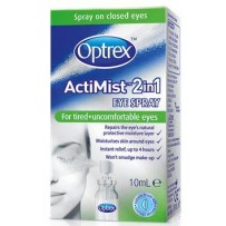 Optrex ActiMist 2in1 For TIRED+UNCOMFORTABLE Eyes Eye Spray 10ml