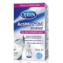 Optrex ActiMist 2in1 For DRY+IRRITATED Eyes Eye Spray 10ml