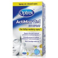 Optrex ActiMist 2in1 For ITCHY+WATERY Eyes Eye Spray 10ml